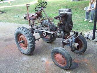 Our Garden Tractors Tractors Homemade Tractor Garden Tractor