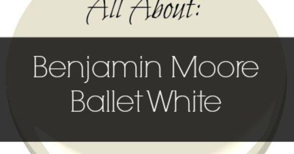 Colour review ballet white benjamin moore cream paint for Benjamin moore paint review