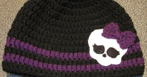Monster High Skull Pattern Brissys Boutique Monster High Skull