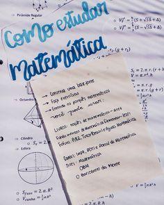 Dicas Sobre Como Estudar Matematica Como Estudar Notas