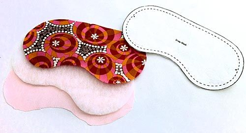 Travel Accessories Satin Lined Sleep Mask Sew4home Diy Sleep Mask Sewing Crafts Sleep Mask