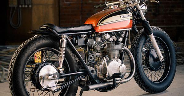 1978 cb750 cafe racer | Cafe Racer Special: Honda Bobber