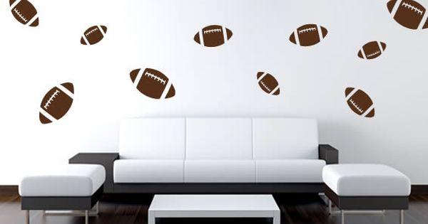 Football Wall Stickers Football Wall Wall Stickers Sports Wall