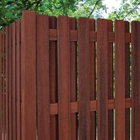 Strong And Maintenance Free Composite Fencing Topsdecor Com In 2020 Wood Fence Design Backyard Fences Privacy Fence Designs