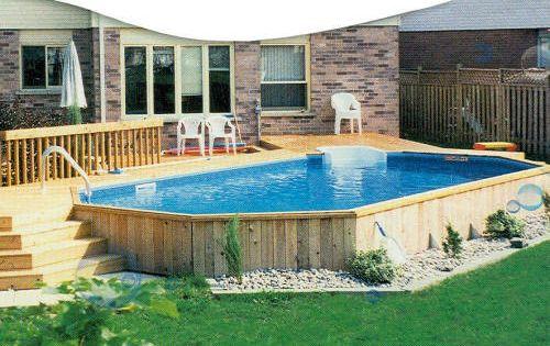 Coffrage piscine acier jardins pinterest piscines for Les plus belles piscines hors sol