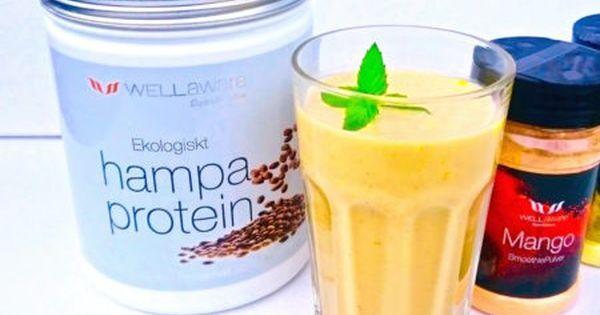 smoothie med hampaprotein