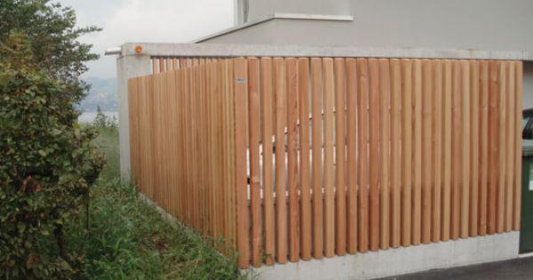 terrasse sichtschutz von pletscher co ag einfriedung gartenmauer pinterest sichtschutz. Black Bedroom Furniture Sets. Home Design Ideas