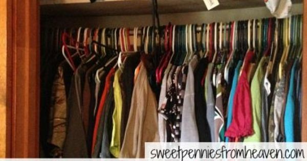 How To Organize Even The Smallest Closet On A Budget