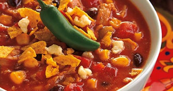 Tons of Crockpot Recipes Thankful Fiesta Soup