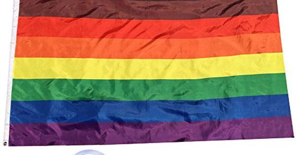 Philadelphia Pride Flag 5ft x 3ft LGBT Polyester