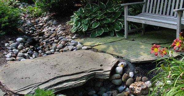 Dry creek bed garden design dry creek beds landscaping for Garden getaway designs