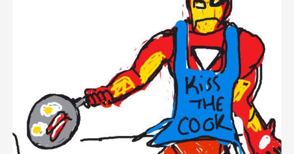 Draw Something Iron Chef OMGPOP lol