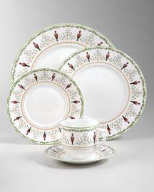China Dinnerware Formal Dinnerware Bernardaud 1956 Grenadiers Luxury Tableware Bernardaud Tableware