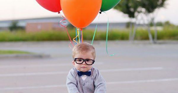 Up! kids costume oldman