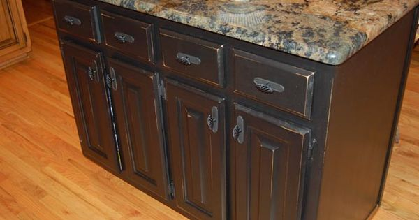 Distressed Black Cabinets Kitchen Ideas Pinterest Colors The O 39 Jays And Love The