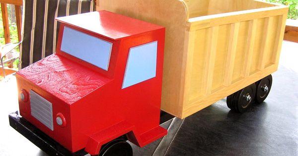 Dump Truck Toy Box Boys Toy Box Toy Box Plans Diy Toy Box