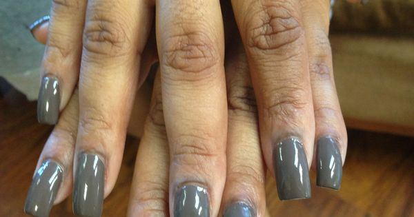 Medium length square nails!!! Nails By Queen!!! | Nails By ...
