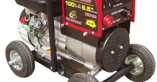 Powerland Pdw100 600 Watt 6 5 Hp Ohv 4 Stroke Gas Powered Portable Generator 100 Portable Generator Portable Welder Portable