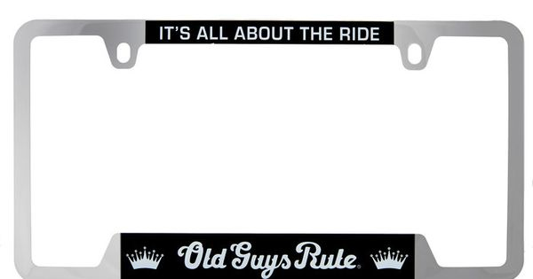 It S All About The Ride License Plate Holder Plate