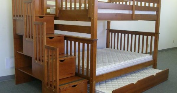 Bunk Bed With Stairs Plans Free Stairway Expresso Bunk