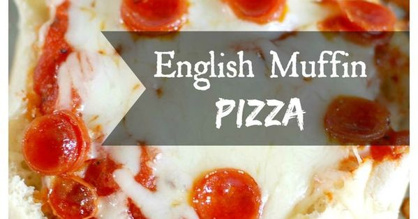 English Muffin Pizza | Recipe | English, Pizza and The o'jays