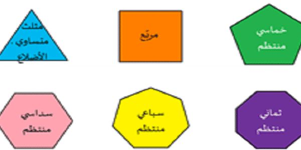 ماذا تعرف عن المضلعات وأنواعها Pie Chart Chart Surface
