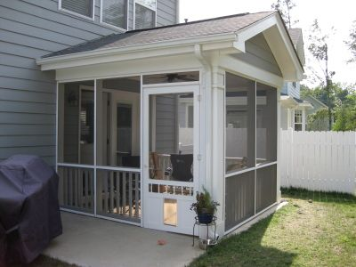 Pictures Of Screening In Our Back Patio Screened In Porch Diy Screened In Patio Enclosed Patio