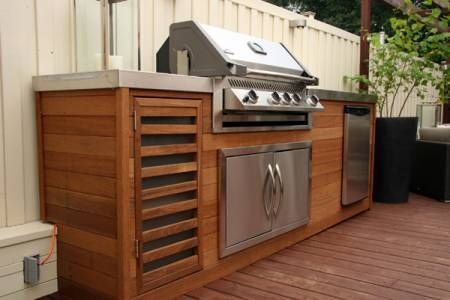 Get Your Deck In Check For Summer Outdoor Bbq Area Built In Bbq Built In Grill