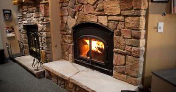 Quadrafire 7100 Wood Burning Fireplace Boral Chardonnay Old