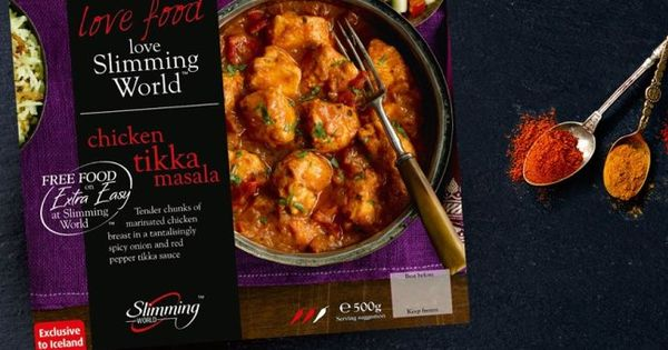 Slimming World Ready Meals Chicken Tikka Masala