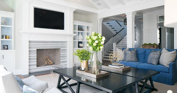 living room with two coffee tables | living rooms | pinterest