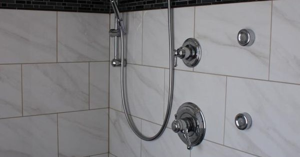American Olean Mirasol Bianco Carrara Shower Ideas Pinterest Carrara Bath And Master