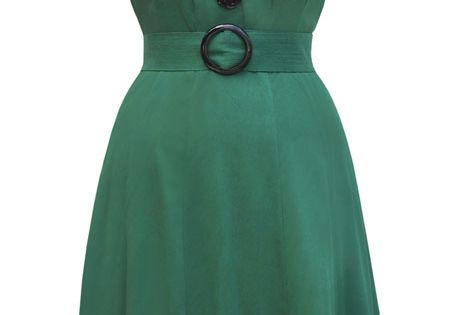 Trashy Diva Sweetie Dress | 1940s Inspired Dress | Green | Trashy