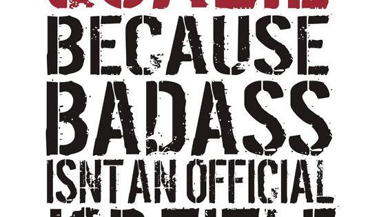 Funny 'Goalie Because Badass Isn't a Job Title' T-Shirt for Hockey Goalies