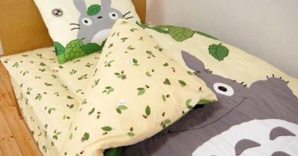 Totoro Bedding Totoro Studio Ghibli Totoro Nursery