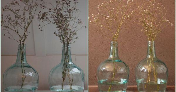 Interieur trend glazen vazen flessen van gekleurd glas for Interieur stylist gezocht