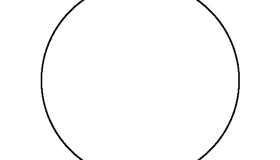 6 Inch Circle Pattern. Use The Printable Outline For