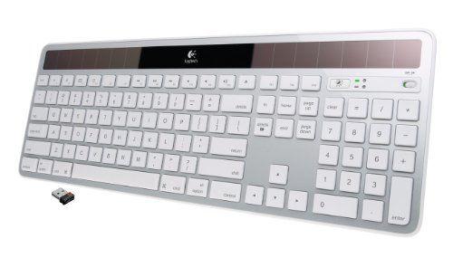 Logitech Wireless Solar Keyboard K750 For Mac Silver Logitech Wireless Logitech Keyboard