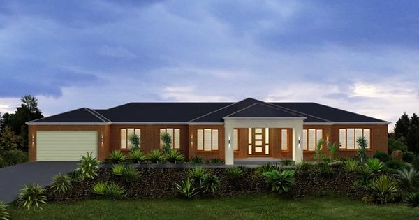 Metricon home designs the denver traditional facade for Home designs victoria