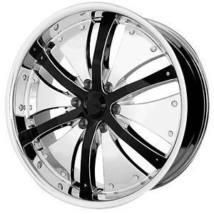 22 Inch Xpower Chrome Rims Wheels Tires Fit Chevy 6 Lug Chrysler