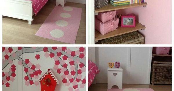 Kinderkamer dingen die ik leuk vind pinterest kinderkamer kinderkamers en meisjeskamer - Schattige meisje slaapkamer ...