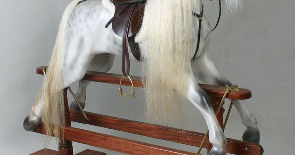 Kensington Dapple Grey rocking horse