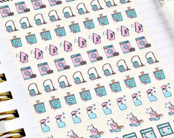 Materiales Para Scrapbooking Etsy Es In 2020 Bullet Journal Stickers Planner Stickers Vinyl Sticker Paper