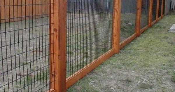 Hog wire fence design construction resources