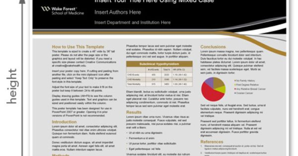 The University of Texas at Austin research poster templates for ...