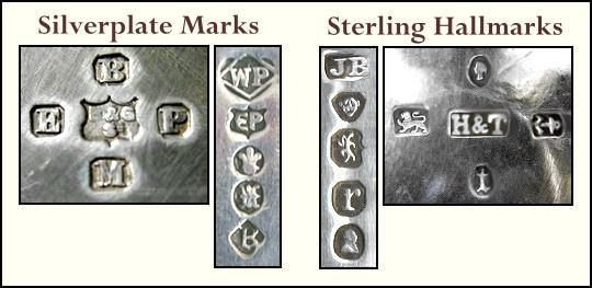 British Silver Plate Marks