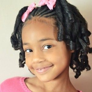 Little Black Girl Hairstyles Natural Hair Styles Little