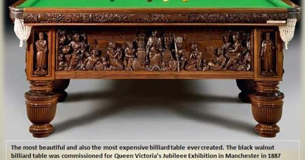 Expensive Pool Table the most beautiful an expensive billiard table ever created