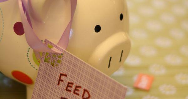 Cute Baby Shower Ideas- college fund piggy bank?!