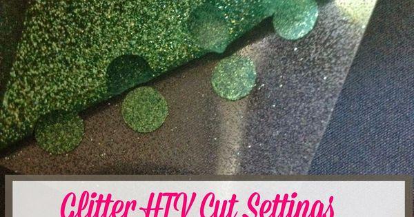 Glitter Htv Cut Settings Get The Perfect Silhouette Cut